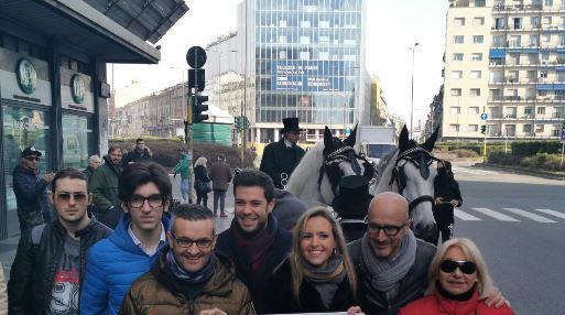 Blocco traffico a Milano